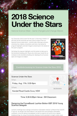 2018 Science Under the Stars