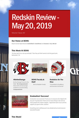 Redskin Review - May 20, 2019