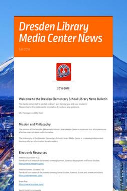 Dresden Library Media Center News