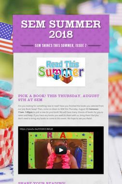 SEM Summer 2018