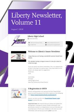 Liberty Newsletter, Volume 11