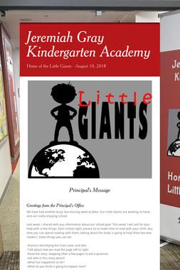 Jeremiah Gray Kindergarten Academy