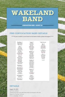 Wakeland Band