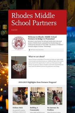 Rhodes Middle School Partners