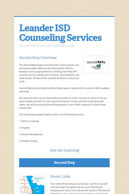 Leander ISD Counseling Services