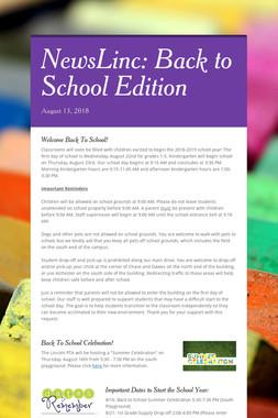 NewsLinc: Back to School Edition