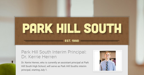 Park Hill South | Smore Newsletters for Education