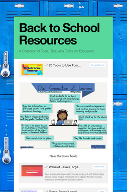 Back to School Resources