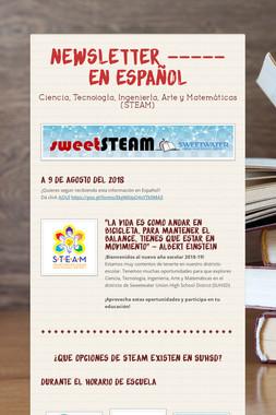 Newsletter ----- En Español