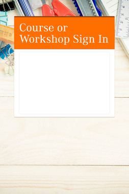 Course or Workshop Sign In