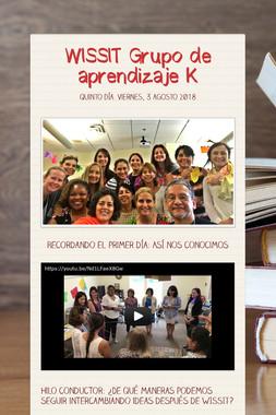 WISSIT Grupo de aprendizaje K