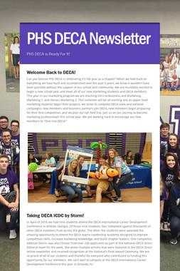 PHS DECA Newsletter
