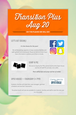 Transition Plus              Aug 20