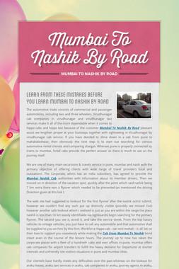 Mumbai To Nashik By Road