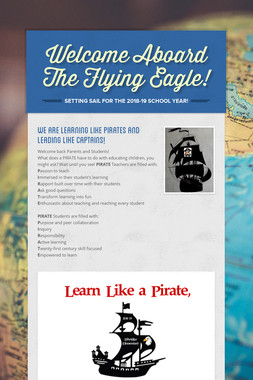 Welcome Aboard The Flying Eagle!