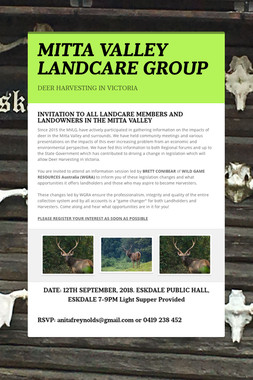 MITTA VALLEY LANDCARE GROUP