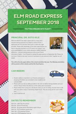 Elm Road Express September 2018