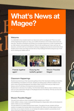 What's News at Magee?