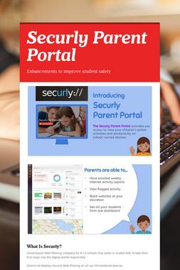 Securly Parent Portal