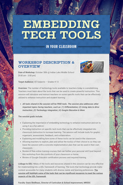 Embedding Tech Tools