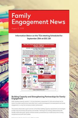 Family Engagement News