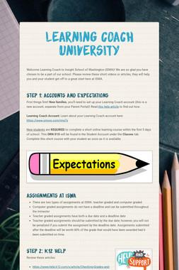 Learning Coach University