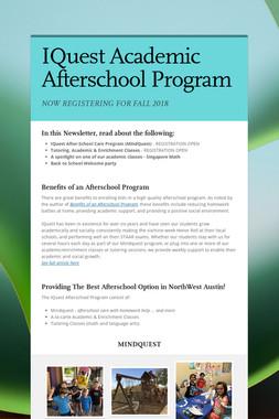 IQuest Academic Afterschool Program