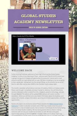 Global Studies Academy Newsletter