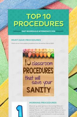Top 10 Procedures
