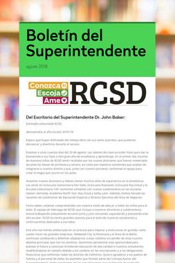 Boletín del Superintendente