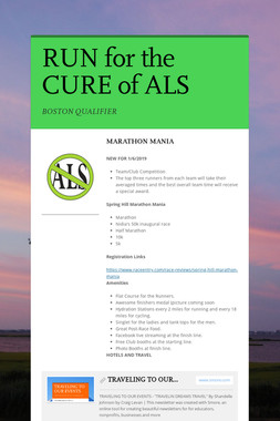 RUN for the CURE of ALS