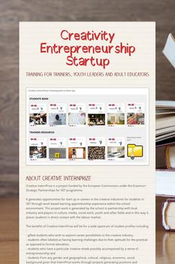 Creativity Entrepreneurship Startup