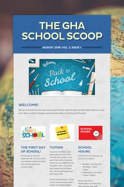 The GHA School Scoop