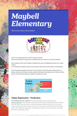 Maybell Elementary