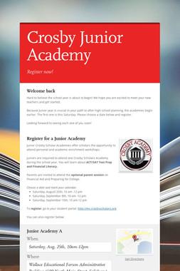 Crosby Junior Academy
