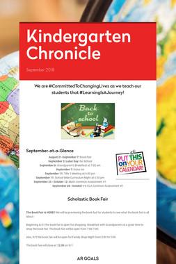 Kindergarten Chronicle