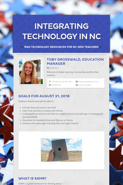Integrating Technology In NC