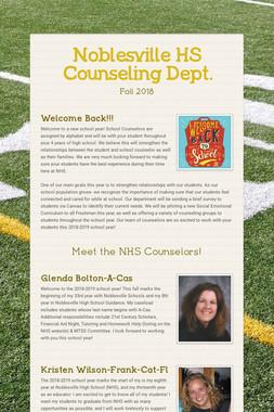 Noblesville HS Counseling Dept.