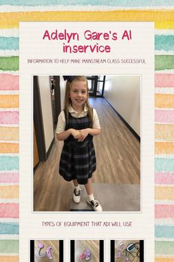 Addison Daudelin's Inservice