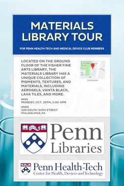 Materials Library Tour