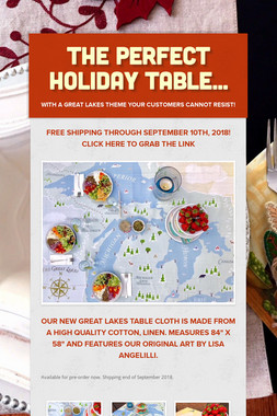 The Perfect Holiday Table...