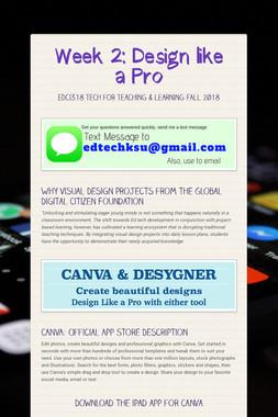 Week 2: Design like a Pro