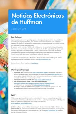 Noticias Electrónicas de Huffman