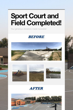 Sport Court and Field Completed!