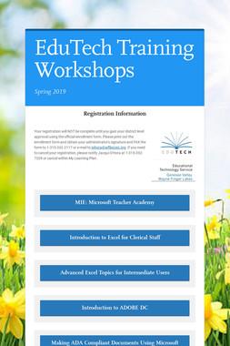 EduTech Training Workshops