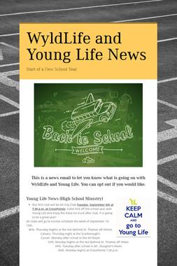 WyldLife and Young Life News