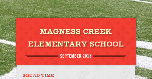 Magness Creek Elementary School | Smore Newsletters for