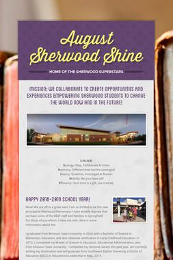 August Sherwood Shine