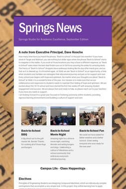 Springs News