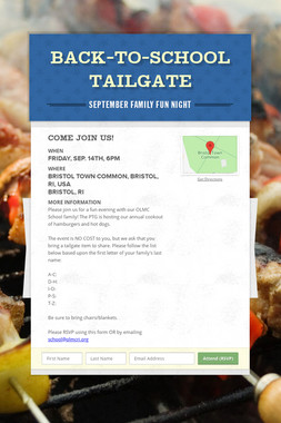 Back-to-School Tailgate